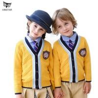 Children's Primary School Uniform Kids Kindergarten Uniforms Students 5-Piece British Academic