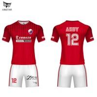 OEM Custom Sports Printed Football Jersey New Model Soccer Team Men Football Shirt