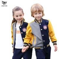School Uniform Designs Kindergarten Dress Suit Children's School Boys and Girls Sports Wear for