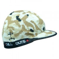 Custom Brand Camo Design Knitted Winter Beanie with Visor