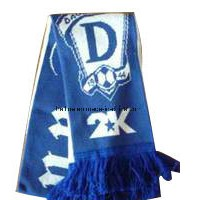 Design Your Own Sport Team Winter Warm Scarf with Tassels