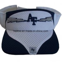 Fashion Sport Mesh Cutted Panel Embroidery Visor