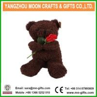 Brown Plush Stuffed Bear Soft Toy  Teddy Bear Shaped Plush Valentine Day