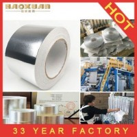 HVAC Fsk Heat Resistant Aluminum Foil Ductwork Tape for Pipe Insulation Factory Price