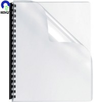 A4 Size Rigid Plastic Thick PVC Sheet for Binding Sheet