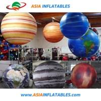 Custom Made Floating Planet Balloon  Inflatable Replica Jupiter Sky Balloon