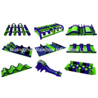 Inflatable Obstacle Course Racing Game for Events with Factory Price