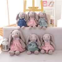 30cm Kawaii Cartoon Rabbit Plush Toy Bunny with Skirt Doll Soft Stuffed Animal Toys