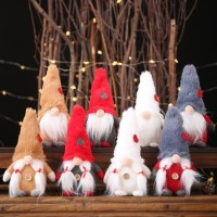 Christmas Decorations for Home Plush Forest Man No Face Doll Toy