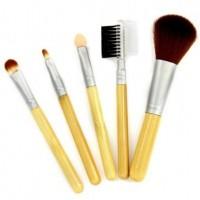 Bamboo Makeup Brush Powder Blush Makeup Brush Set Tool