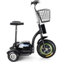 36V500welectric Trike LED Light Motor Tricycle with Basket