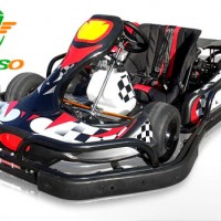 2018 Newest Racing Go Kart with Steel Safety Bumper Pass Ce Certificate Hot on Sale