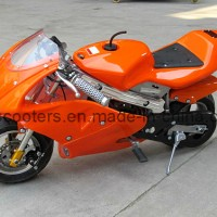 2016 New Style Orange 49cc Mini Pocket Bike (YC-8001)