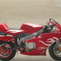 SGS Approval 49cc Pocket Bike Mini Moto Racing Bike (et-pr204)