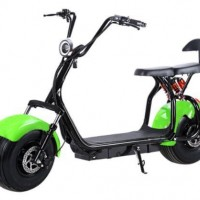 Quality 1000W 60V/12ah Brushless Adult Electric Scooter  2 Wheels E-Scooter Electric Motorcycle