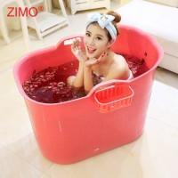 SGS Test Passed Cheap Used SPA Barrel Freestanding PP5 Bath Tub Bucket Portable Plastic Bathtub for