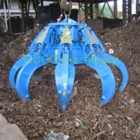 Grab Ouco Electric Hydraulic Orange Peel Octopus Grab