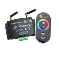 DC12-24V RGB RGBW RF WiFi Wireless Touch Wheel LED Light Remote Controller