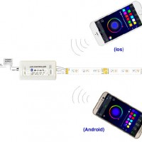 RGBW Bluetooth Controller for LED Lighting