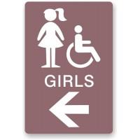 Reception  Rest Room  Wash Room  Signage  Sign
