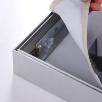 Backlit LED Light Box Advertising Customized Size Frameless Fabric Light Box