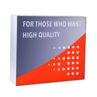 Custom Aluminum Backlit LED Fabric Advertising Light Box