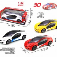 New hot selling 3D lighting 1:22 RC 2-Channels Car
