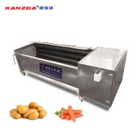 carrot cleaning machine  vegetable fruit washing washer