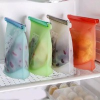 Silicone Fresh Bag for Fruits Vegetables Meat Preservation