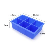 silicone cake mold reusable ice bucket ice cube tray molds