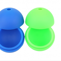 cute circle flexible small whiskey cube silicone ice trays