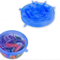 Food Grade Reusable Silicone Food Covers Stretch Lids