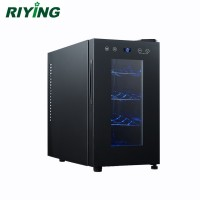 8 Bottle Thermoelectric Mini Wine Display Cooler