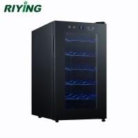 18 Bottle Thermoelectric Mini Wine Display Cooler