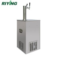 Two Faucet Automatic Beer Tower Dispenser Instant Cooler