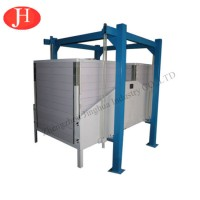 Automatic Potato Starch Processing Sifting Machine Half Closed Starch Sifter