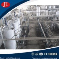 Wheat Starch Process Making Plant Project with Factory Pictures