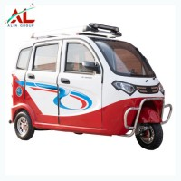 800W Motor Transport Taxi System 3 Wheeler Tricycle Electric Rickshaw
