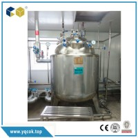 Hot Mixing Tank Stainless Steel Agitator