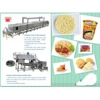 Fully Automatic Instant Noodle Production Line/Instant Noodle Processing Machine Fried Instant Noodl