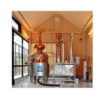 Mash Tun for Distillery Industrial Distiller Alcohol Copper Alembic Distiller Vodka Distiller Home D