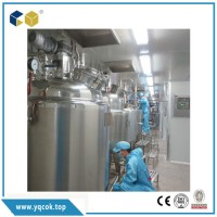 Stainless Steel Sanitary Storage Tank for Puried Water  Juice  Milk  Dairy