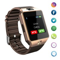 1.54 TFT LED Touch Screen Pedometer Clock with SIM Card Slot Smar Twatch