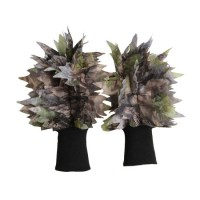 Military Multicamo Leaf Wild Traning Multicamo Camouflage Tactical Outdoor Bionic Full-Half Finger S
