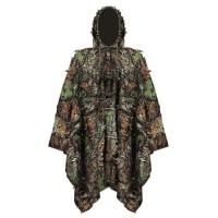 3 in 1 Multifunctional Outdoor Military Travel Camouflage Raincoat Poncho