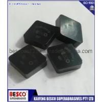 Solid CBN Insert PCBN Turning Automotive Brake Disk Finish Cutting