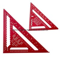"""7""""/ 12'' Professional Set Square/Triangle Square Ruler/Rafter Square with Laser Marki"""