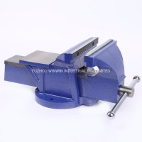 Heavy Duty Bench Vice Stationary Base Bench Vise with Anvil (WW-SBV01)