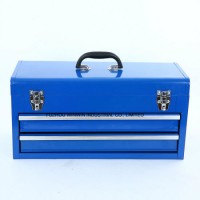 Top Quality Hand Held Steel Toolbox with 2 Slide Drawers (WW-TB601B)