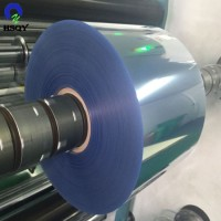 0.05-1.5mm Plastic PVC Sheet Clear APET HIPS PVC Roll Film for Thermoforming